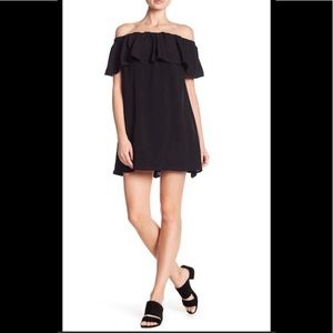 NWT French Connection Off-the-Shoulder Dress